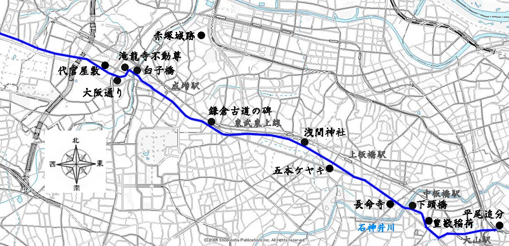 2006/08/05 旧川越街道の探索